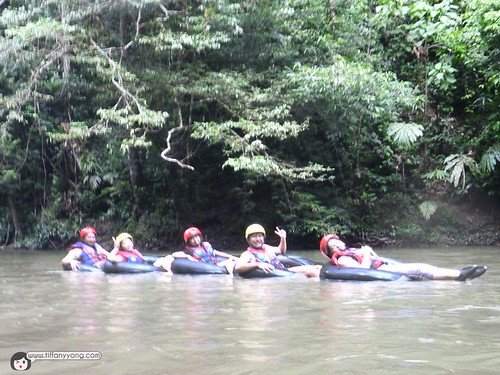 Tubing at Temburong
