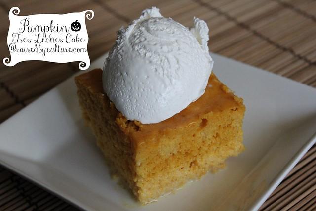 Pumpkin Tres Leches Cake