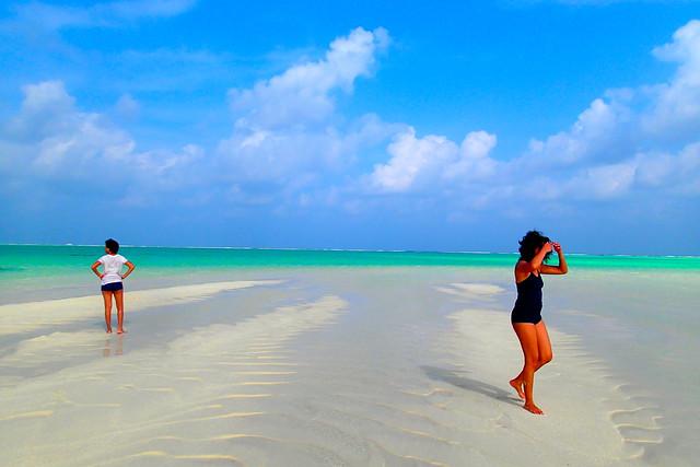 Maadhoo Finolhu picnic island, Maldives
