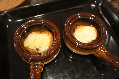 At Home:  Onion Soup