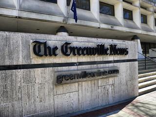 Greenville News Sign 2
