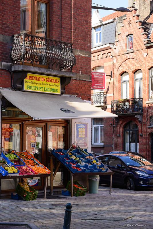corner grocery shop alimentation generale ixelles brussels