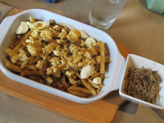 poutine, Quebec City Couchsurfing experience
