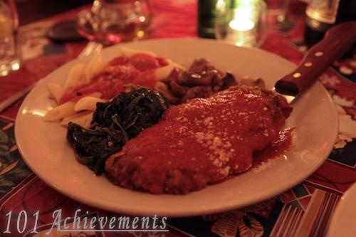 Dinner at Zarra's
