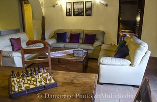 interior de 'La Sala', una de las casas de Can Margarit