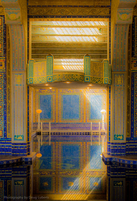 Roman Pool hearst castle san simeon ca