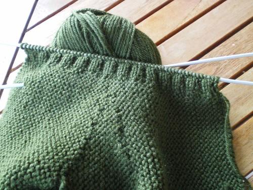 Tricot facile gants tricot s au point mousse 2 aiguilles pour adultes patchcath - Point tricot facile joli ...