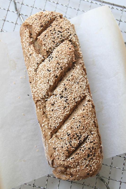 spelt and oat soda bread