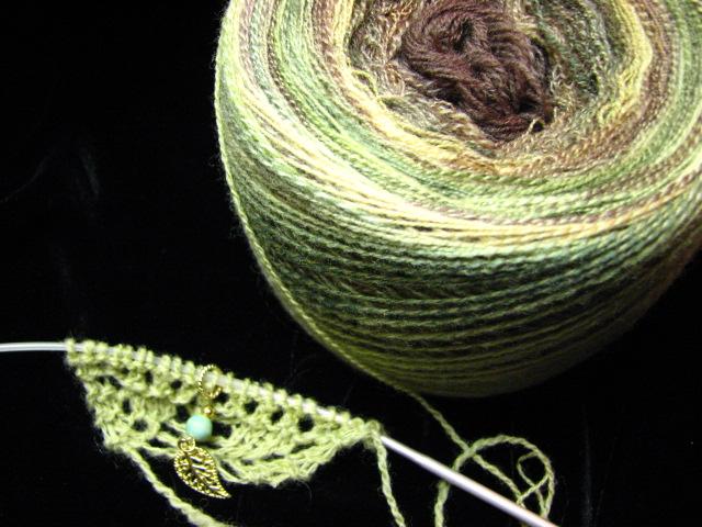 Forest Fractal Yarn