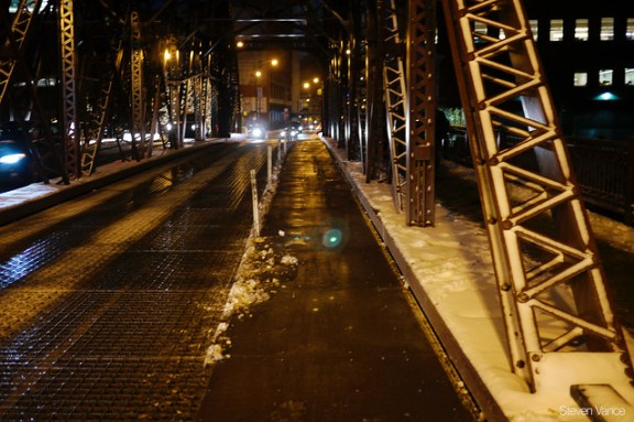 Kinzie was finally, fully cleared by Wednesday afternoon