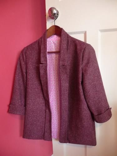Pink Victoria Blazer By Hand London