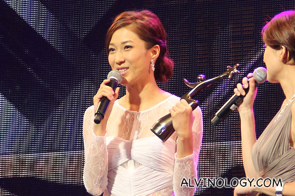The always gorgeous Linda Chung