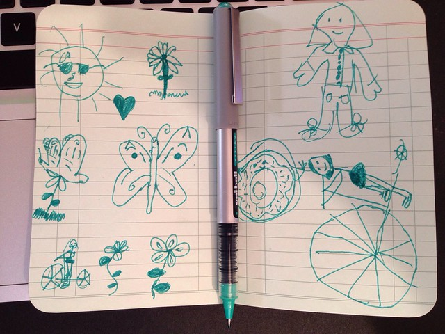 Butterflies and bicycles