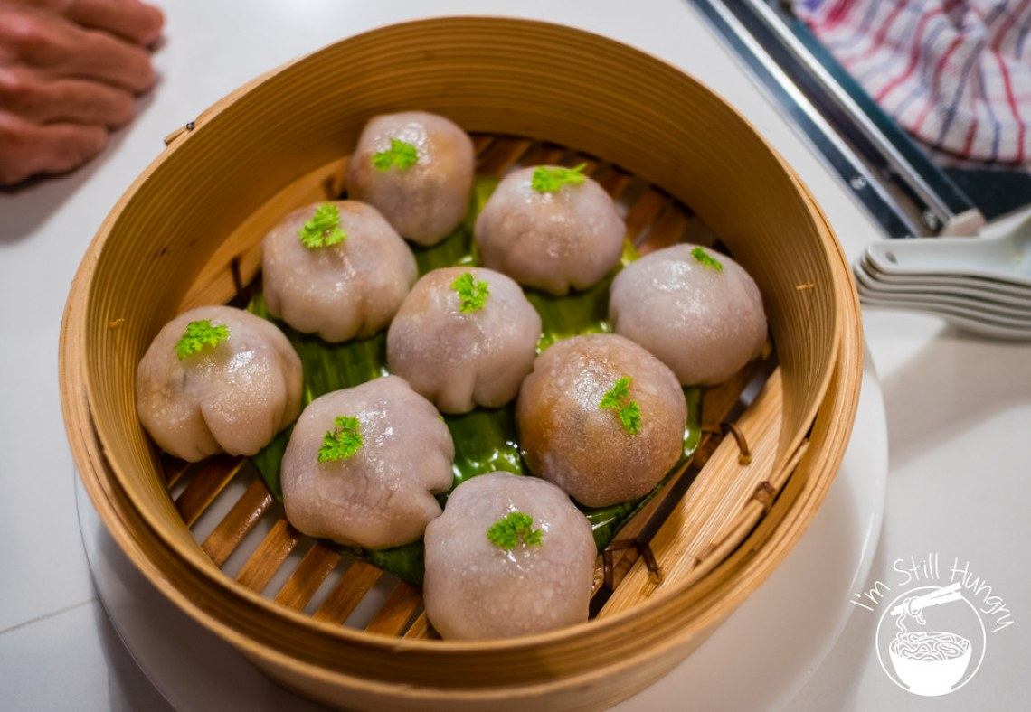 BBQ duck dumplings love on top potts point