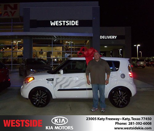 Happy Anniversary to Julie Bishara Watts on your 2011 #Kia #Soul from Guzman Gilbert and everyone at Westside Kia! #Anniversary by Westside KIA