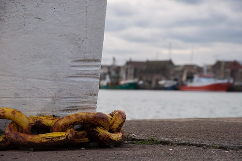 Chains in the harbour of Howth by ~ Marjolein ~