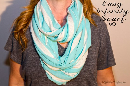 easy infinity scarf