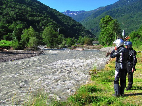Pyrenees River Still Running Fast & Furious