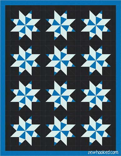 january one block quilt 2