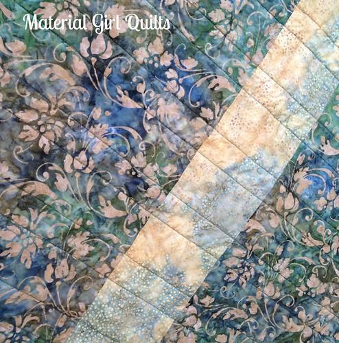 Batik Strips back detail