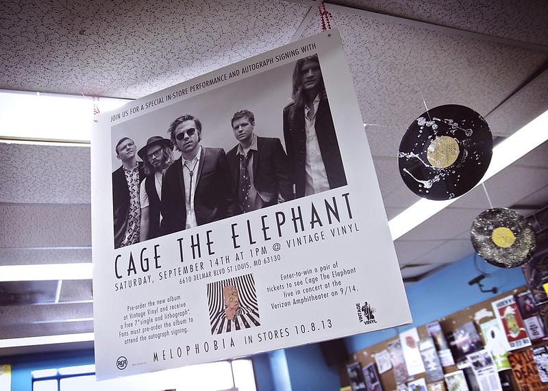Cage the Elephant @ Vintage Vinyl