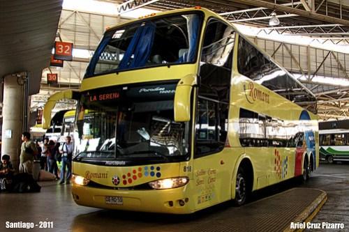 Buses Romani - Santiago (Chile) - Marcopolo Paradiso 1800 DD / Scania (CGRC10)