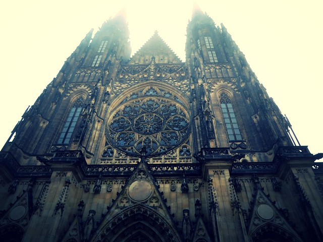 St Vitus Cathedral, Prague in the Winter