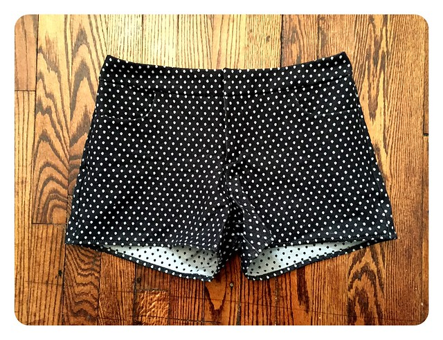 Red Knits_Polka Dot Maritime Shorts