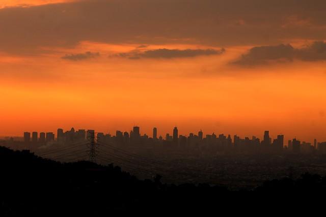 Metro Manila Skyline