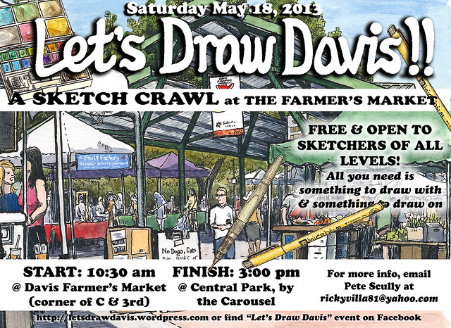 let's draw davis may 2013