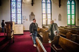 Alan with Rev. Tucker