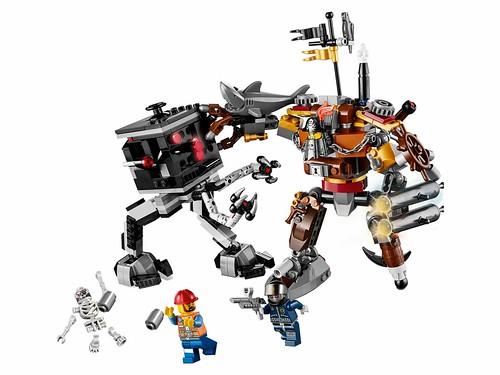 LEGO The Movie 70807 MetalBeard's Duel 00