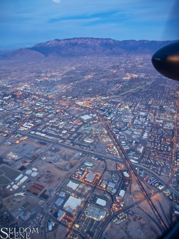 Leaving Albuquerque