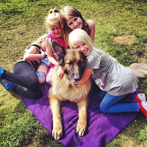 Dog love!