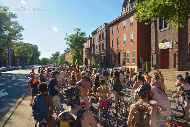 naturist 0046 Philly Naked Bike Ride, Philadelphia, PA USA