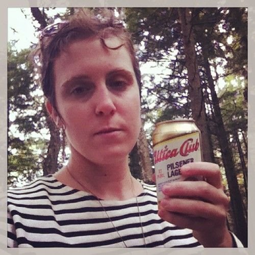 #TeenagedSelfie 10: I jumped into the lake. Then snuck a beer out of the cooler.