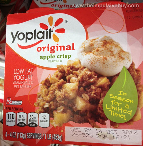 Yoplait Original Apple Crisp Yogurt