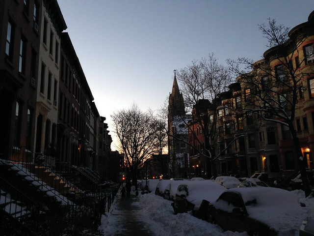 Winter Evening in NYC