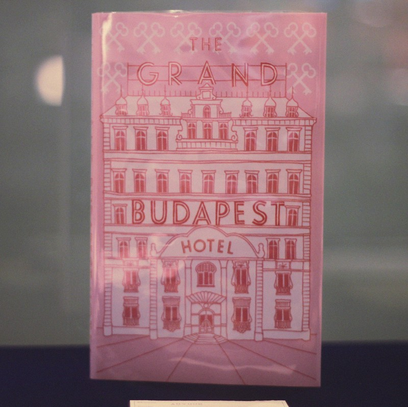 The Grand Budapest Hotel book cover wes anderson