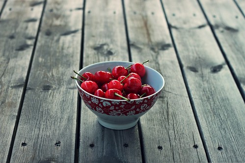 """Life is a bowl of cherries""."