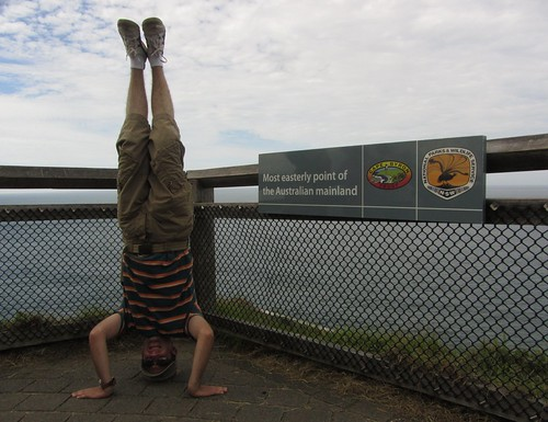 37. most easterly headstand