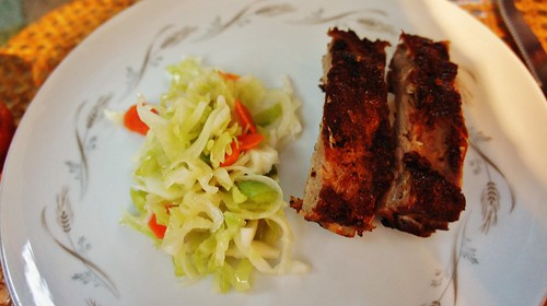 Missouri-style Baby Backs & Clairmont Diner Health Salad