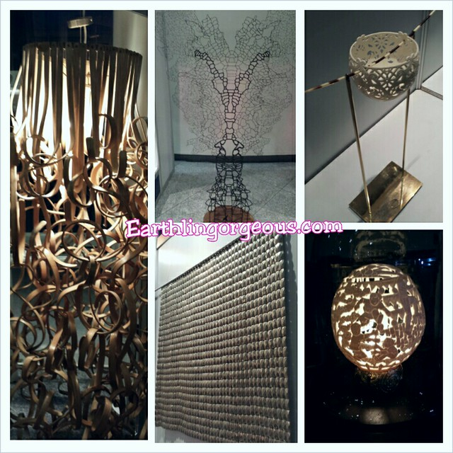 Att installations and Home Accessories by Kennet Cobonpue etc at Unicef Auction for Action