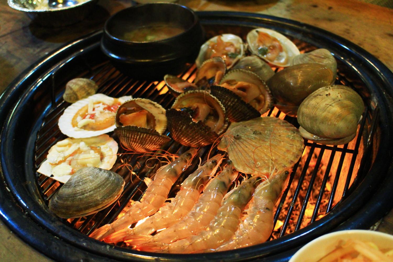 [首爾] 弘大任食燒海鮮烤貝店.홍대조개구이 | 跟著小鼠去旅行 – U Blog 博客