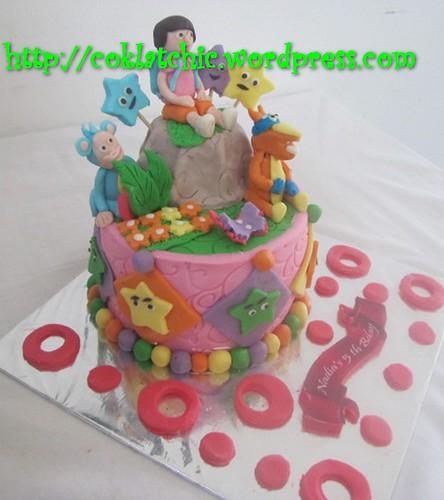 Cake Dora the Explorer