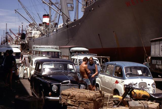 Colombo Harbour, Sri Lanka, 1969