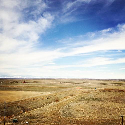 Denver Front Range from DIA by @MySoDotCom