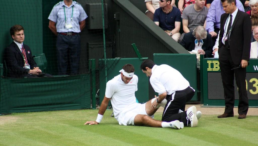 Wimbledon medical call