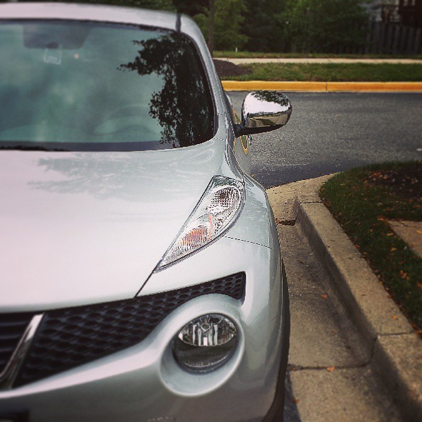 "Last night on an impulse @kenyc24 decided to get me an early birthday gift! Meet JuJu ""Juke"" Johnson. #newcarsmell"