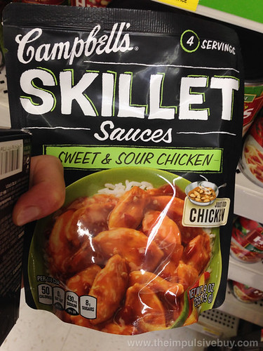 Campbell's Sweet & Sour Chicken Skillet Sauces